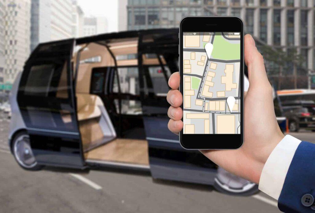 Przykłady wzorów przemysłowych. Layout aplikacji mobilnej