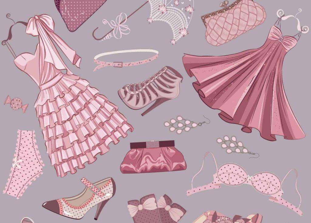 Przykłady wzorów przemysłowych - ubrania
