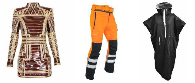 Przykłady wzorów przemysłowych - ubrania.