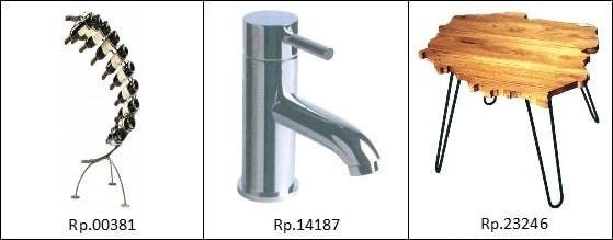 Przykłady wzorów przemysłowych