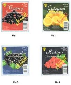 Fot. 2 - Etykiety naopakowania napoju winopochodnego.
