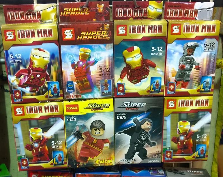 Chińskie podróbki - ludzik LEGO