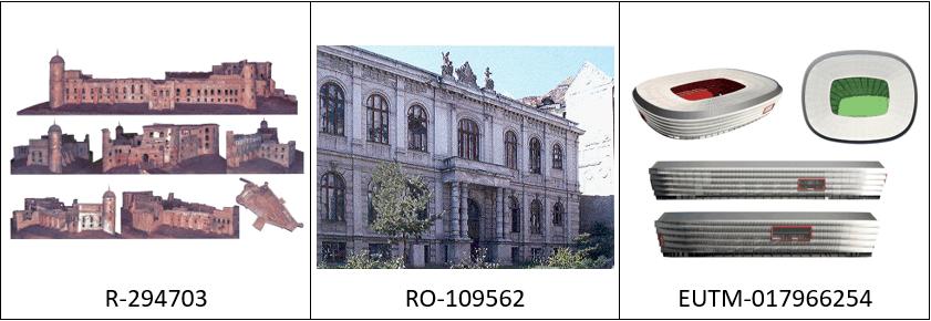 Budynek jako znak towarowy